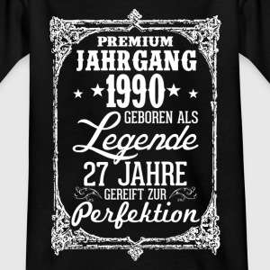 27 1990-légende - perfection - 2017 - DE Tee shirts - T-shirt Ado