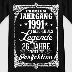 26-1991-légende - perfection - 2017 - DE Tee shirts - T-shirt Enfant