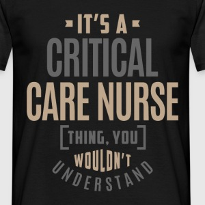 Critical Care Nurse - Men's T-Shirt