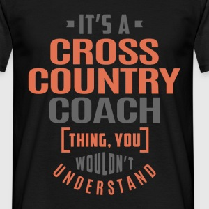 Cross Country Coach - Men's T-Shirt