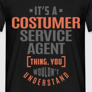Costumer Service Agent - Men's T-Shirt