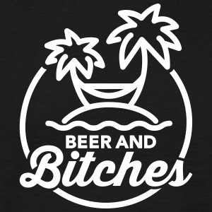Beer and Bitches T-shirts - Herre-T-shirt