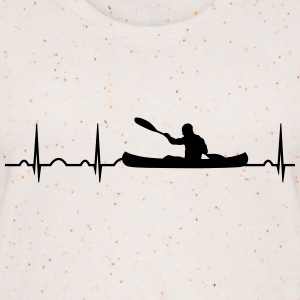 ECG heart rate canoe watersports canoeists paddle Tops - Women's Organic Tank Top