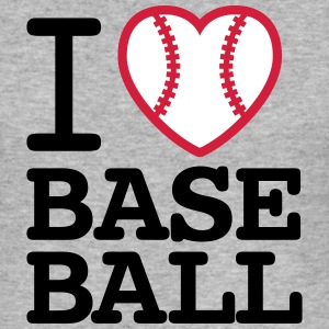 I love baseballl T-shirts - Herre Slim Fit T-Shirt