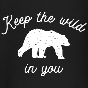 Keep the wild in you Baby Langarmshirts - Baby Langarmshirt