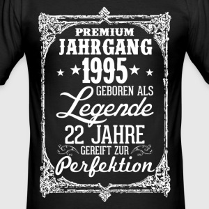 22-1995-legend - perfektion - 2017 - DE T-shirts - Herre Slim Fit T-Shirt