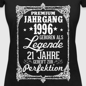 21-1996-legend - perfection - 2017 - DE T-Shirts - Women's V-Neck T-Shirt