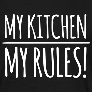 my kitchen – my rules (dh) T-Shirts - Männer T-Shirt