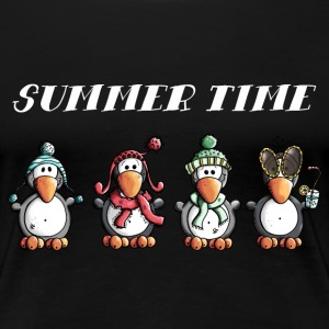 Fun Pinguine T-Shirts - Frauen Premium T-Shirt