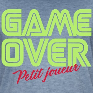 Game Over Petit Joueur Tee shirts - T-shirt vintage Homme