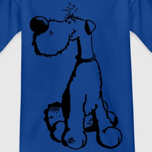 Cute Airedale Terrier T-Shirts - Kinder T-Shirt