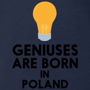 Geniuses are born in POLAND Sxwl3 Baby Bodysuits - Organic Short-sleeved Baby Bodysuit