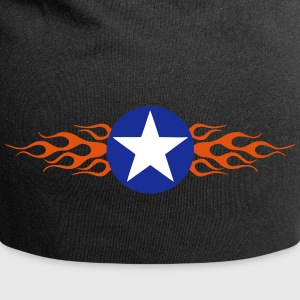 USA Star Flaming Casquettes et bonnets - Bonnet en jersey