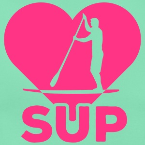 Standing paddlers SUP Paddle Sports water sports summer T-Shirts - Women's T-Shirt