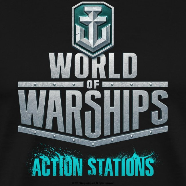 World of Warships Logo Collection - Men's T-Shirt