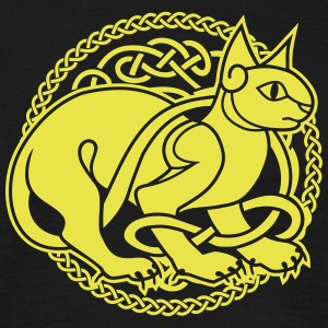 Celtic Cat - Männer T-Shirt