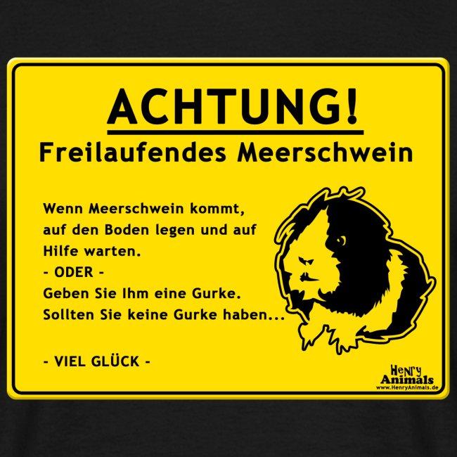 Achtung! Meerschwein
