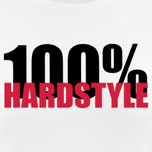 100% Hardstyle EDM Quote Tee shirts - T-shirt respirant Femme