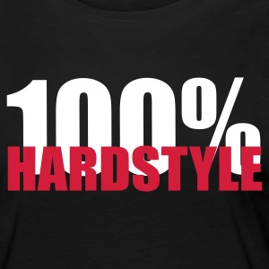 100% Hardstyle EDM Quote Long Sleeve Shirts - Women's Premium Longsleeve Shirt
