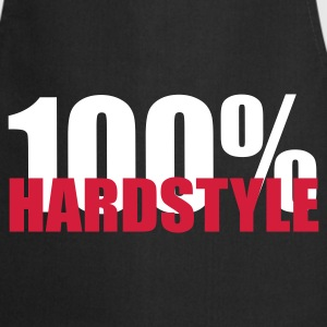 100% Hardstyle EDM Quote  Aprons - Cooking Apron