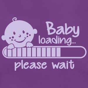 Baby loading.... please wait T-Shirts - Frauen T-Shirt