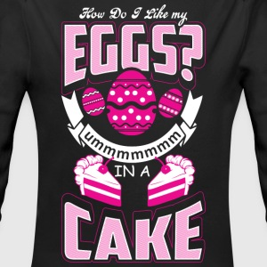 Eggs In A Cake - Baking - EN Baby Bodys - Baby Bio-Langarm-Body