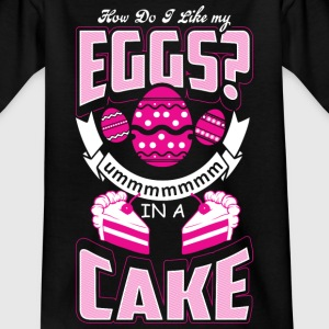 Eggs In A Cake - Baking - EN Tee shirts - T-shirt Ado