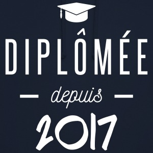 diplomée depuis 2017 Sweat-shirts - Sweat-shirt à capuche unisexe