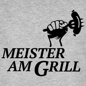 De barbecue BBQ barbeque Grill master T-shirts - Mannen Bio-T-shirt