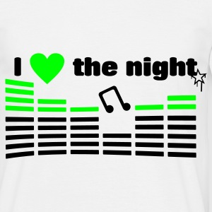 I love the night - T-shirt Homme