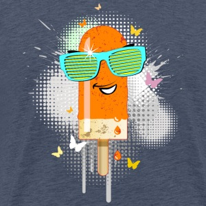 Eis am Stiel ice lolly ice cream Sommer popsicle - Männer Premium T-Shirt