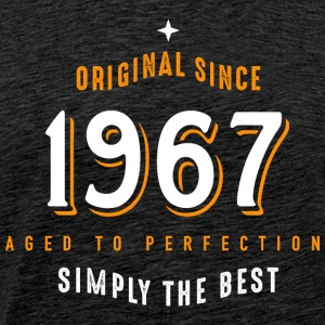 original since 1967 simply the best 50. Geburtstag - Männer Premium T-Shirt