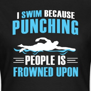 Swimmer T-Shirts - Women's T-Shirt