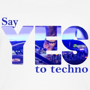say YES to techno Tops - Frauen Bio Tank Top