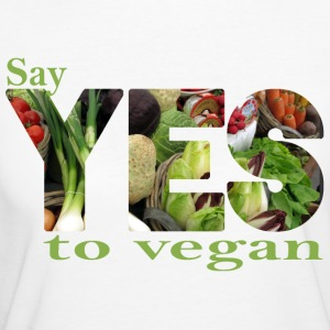 Say YES to vegan T-Shirts - Frauen Bio-T-Shirt