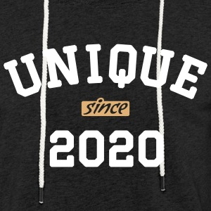 uni2020 Sweat-shirts - Sweat-shirt à capuche léger unisexe