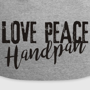 LOVE PEACE Handpan black - Jersey-Beanie