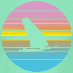Windsurfing Colorfade - Männer T-Shirt