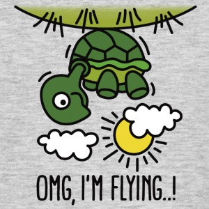 OMG, I'm flying!  T-Shirts - Männer T-Shirt
