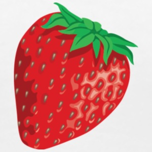 Strawberry T-shirts - Dame premium T-shirt