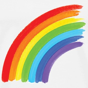 Rainbow, Pride, Unicorns T-shirts - Herre premium T-shirt