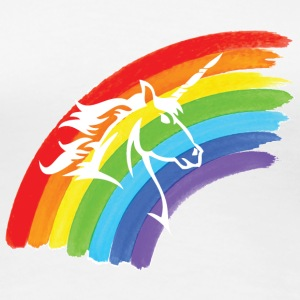 Rainbow, Pride, Unicorns T-Shirts - Frauen Premium T-Shirt