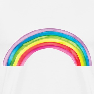 Watercolor Rainbow, Pride, Unicorns T-Shirts - Men's Premium T-Shirt