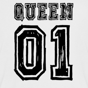 Queen 01 - Pärchenshirt - Frauen Kontrast-T-Shirt