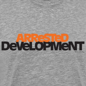 Arrested Development TV Series Title - Mannen Premium T-shirt