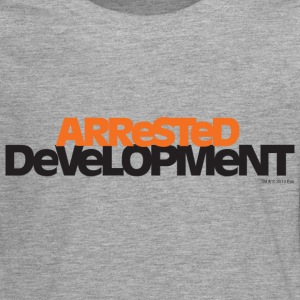 Arrested Development TV Series Title - Premium langermet T-skjorte for tenåringer