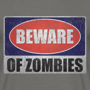 Beware of Zombies - T-shirt Homme