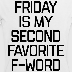Favorite F-Word Funny Quote T-shirts - Kontrast-T-shirt dam