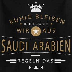 Ruhig bleiben Saudi-Arabien T-Shirts - Teenager T-Shirt