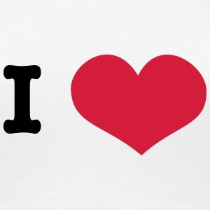 I heart ... (insert own text) T-Shirts - Frauen Premium T-Shirt